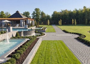 terrassement de prestige terrain de golf