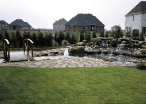 fontaine-terrassement-paysagiste rive-sud