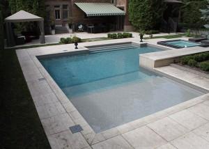 magnifique pavés unis piscine Terrassement euro