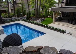 Terrassement-euro-unistone-pool Landscape